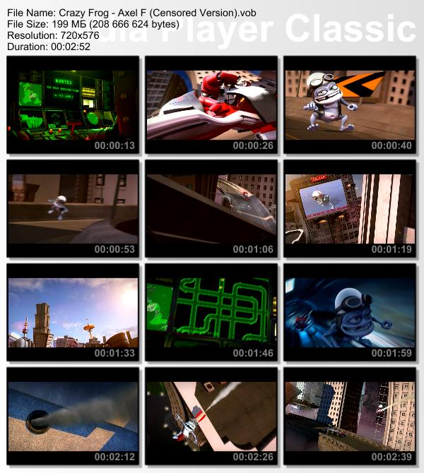 crazy frog axel f 1080p wallpapers